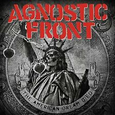 AGNOSTIC FRONT - THE AMERICAN DREAM DIED CD (2015) NEW YORK HARDCORE / NEU & OVP