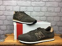 NEW BALANCE 373 MENS UK 11 EU 45.5 BROWN TRAINERS SUEDE AD