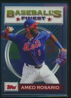 2020 Topps Baseball's Finest Flashbacks #174 Amed Rosario New York Mets