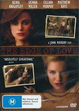The Edge Of Love - Drama/ Romantic/ Adventure - Keira Knightley - NEW DVD