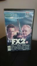 FX2 Deadly Art Of Illusion Big Box VHS Video