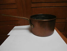 Old Pot Copper Handle Brass 16.5 x 10 cm for 0.800 KG