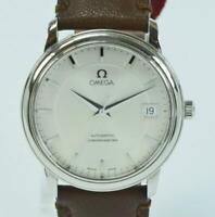 OMEGA De Ville automatic Chronometer Edelstahl Herrenuhr um 2000 D. 34,7mm