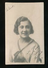 Music Opera Soprano MILDRED HAMMOND 1933 RP PPC