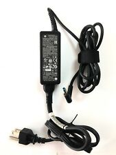 Genuine HP Laptop Charger AC Adapter Power Supply , 19.5V 45W blue 3000+ sold!