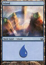 MTG Magic RTR FOIL - Island/Ile, #257, English/VO