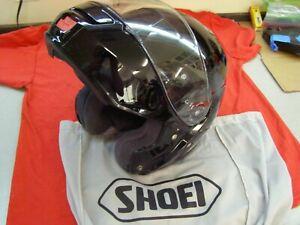 Pre-Owned Shoei Neotec (Black) Helmet Large L (7-1/2) ** Great Shape ** Flip-up
