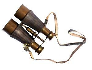 Valentine Rangemaster Military Binoculars Captain Leather Cover Decorate Gift
