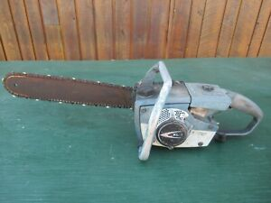 "Vintage HOMELITE XL-1 Chainsaw Chain Saw with 16"" Bar"