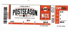 2014 SAN FRANCISCO GIANTS VS ST. LOUIS CARDINALS PLAYOFFS TICKET STUB GAME 3