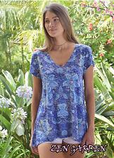 Zen Garden Tshirt -  Lotus Dusk