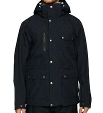 QUIKSILVER Men's ANACONDA Gore-Tex Snow Jacket - Black - Medium - NWT