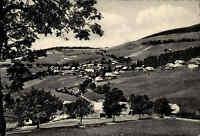 Todtnauberg Schwarzwald Postkarte 1963 gelaufen Gesamtansicht Panorama Felder