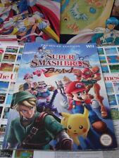 Nintendo Wii:GUIDE Super Smash Bros - Brawl [TOP & 1ST EDITION RARE] Fr