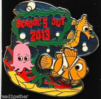 Disney Pin 2013 School's Out Finding Nemo