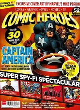 COMIC HEROES #22 March 2014 CAPTAIN AMERICA James Bond in Comics BRYAN HITCH New