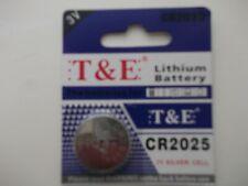 CR2025 Batteries DL2025 T & E Lithium 3V Button Battery