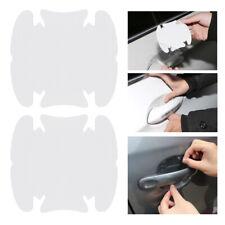 4PCS Auto Door Handle Scratches Protector Sticker Transparent Car Accessories