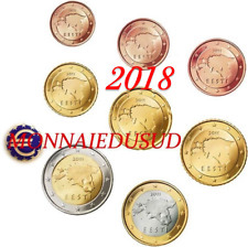 Série 1 Cent à 2 Euro Estonie 2018 - Série UNC