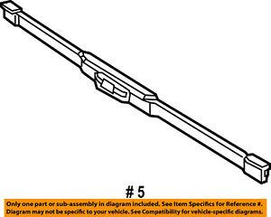 Ram CHRYSLER OEM 2015 ProMaster City Wiper Arm-Front Blade 68266636AA