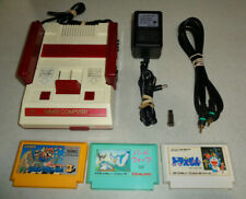 ~Refurbished Nintendo Famicom Hvc-001 System Us Seller ~w/ 3x games Mario 3 +~
