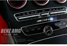 3D Chrome Car Emblem Badge Sticker Interior Exterior for Mercedes-Benz C E S AMG