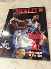 Beckett Basketball Magazine Monthly Price Guide April 1994 Shaquille O'Neal