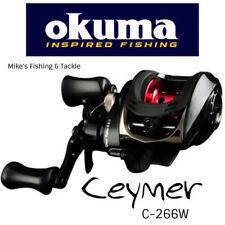 Okuma Ceymer Baitcast C-266W Fishing Reel Low Profile BAITCASTER REEL Ceymar