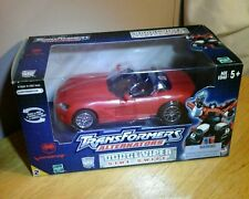 Transformers Alternators Autobot SIDE SWIPE 100% complete  Dodge Viper 2003 MIB