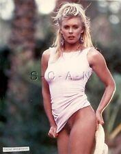 Original Nude Large (8 x 10) Real Photo- Endowed Cathy Borgenson- Blond- Shirt