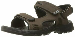 Fila Men's Transition Athletic Sandal Espresso/ Black