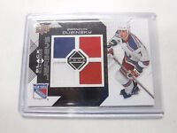 2008-09 Black Diamond Jerseys Brandon Dubinsky Rangers Patch Card jh1
