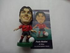 CORINTHIAN PROSTARS SERIES 17 PAOLO MALDINI AC MILAN PRO628 FOOTBALL FIGURE