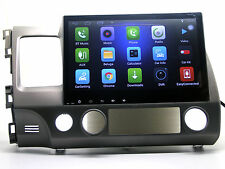 """Wi-Fi Android 10.1"""" Touch Screen Car Stereo Radio GPS Navigation For Honda Civic"""