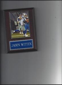 JASON WITTEN PLAQUE DALLAS COWBOYS FOOTBALL NFL