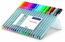 Staedtler Triplus Fineliner Pens, 20 Color Pack (334SB20A604)  -NEW!!