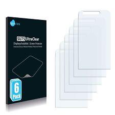 6x Displayschutzfolie für Samsung M8910 Pixon12 Klar Schutzfolie Displayfolie