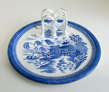 Blue Willow Copeland Breakfast Plate