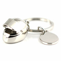 Creative Motorcycle Bicycle Helmet Key Chain Ring Keychain Keyring Key Fob