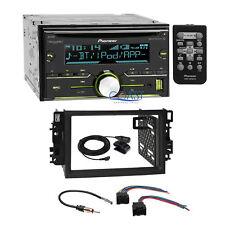Pioneer USB Sirius Bluetooth 2Din Dash Kit Harness for 2007-2011 Chevrolet Aveo