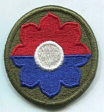 Vietnam Era US  Army 9th Infantry Color Patch-