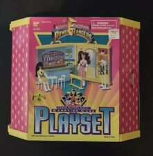 1995 Mighty Morphin Power Rangers For Girls Carrying Case Playset NIB