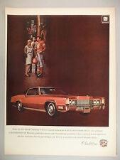 Cadillac Fleetwood Eldorado PRINT AD - 1968 ~~ 1969 model