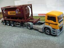 1/87 Wiking MAN TGS Euro 6 Bertschi CH Tankcontainer-SZ 0536 04