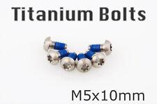 [US Seller] New M5x10mm Titanium Bolt Screw Bike Disc Rotor Brake For Avid
