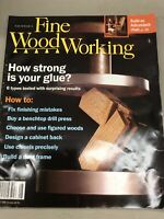 Taunton Fine Wood Working Vintage Magazine August 2007 Home Building DIY How To