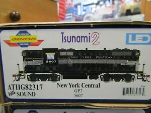 ATHEARN GENESIS G82317 NEW YORK CENTRAL GP-7 TSUNAMI2 DCC & SOUND, DC RD#5607