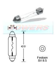 Lucas llb264 12v Volt 10w Festoon Sv8.5 Bombilla de luz