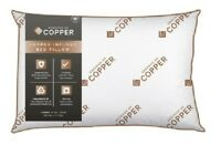 "Essence of Copper Antimicrobial Bed Pillow - free ship - KING JUMBO 20"" x 36"""