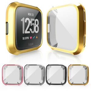 Watch Case For Fitbit Versa Lite 2 Full Screen Protector Cover Bumper Silicone